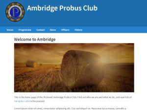 Ambridge screenshot